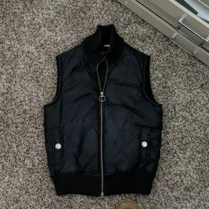 Caslon puffer vest